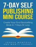 7-Day Publishing Minicourse