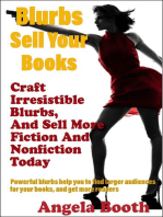 Blurbs Sell Your Books