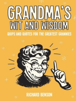 Grandma's Wit and Wisdom
