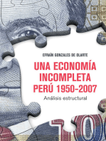 Una economía incompleta. Perú 1950-2007: Análisis estructural