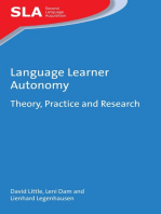 Language Learner Autonomy