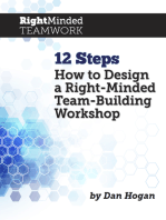 12 Steps How to Design a Right-Minded Team-Building Workshop