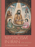 """Mysticism"" in Iran: The Safavid Roots of a Modern Concept"
