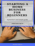 Starting a Home Business for Beginners