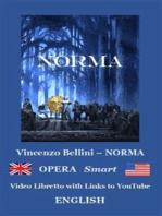 NORMA (annotated): Libretto ebook (Full Text English-Italian)