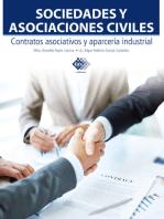 Sociedades y asociaciones civiles. Contratos asociativos y aparcería industrial 2017