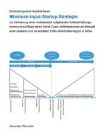 Entwicklung einer duplizierbaren Minimum-Input-Startup-Strategie zur Aktivierung einer modularisiert aufgebauten Selbsterhaltungskommune auf Basis eines Worst-Case-Umfeldszenarios am Beispiel einer autarken und verwüsteten Dritte-Welt-Küstenregion in Afrika