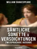 Sämtliche Sonette & Versdichtungen (Zweisprachige Ausgabe