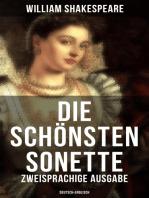 Die schönsten Sonette von William Shakespeare (Zweisprachige Ausgabe