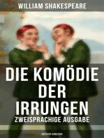Die Komödie der Irrungen (Zweisprachige Ausgabe