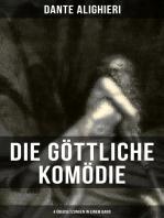 Die Göttliche Komödie: 4 Übersetzungen in einem Band