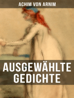 Ausgewählte Gedichte von Achim von Arnim