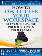 How to Declutter Your Workspace So You're More Productive & Profitable