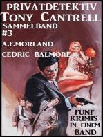 Privatdetektiv Tony Cantrell Sammelband #3 - Fünf Krimis in einem Band