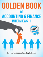 Golden Book of Accounting and Finance Interviews: Part I