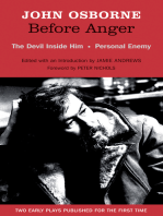 Before Anger - Two Early Plays