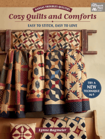 Kansas Troubles Quilters Cozy Quilts and Comforts: Easy to Stitch, Easy to Love