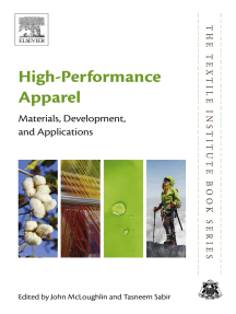 High-Performance Apparel: Materials, Development, and Applications