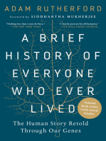 A Brief History of Everyone Who Ever Lived: The Human Story Retold Through Our Genes
