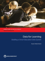 Data for Learning: Building a Smart Education Data System