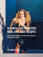 96 Kidney Stone Preventing Meal and Juice Recipes