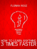 How To Learn Anything 3 Times Faster