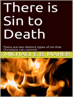 There is Sin to Death