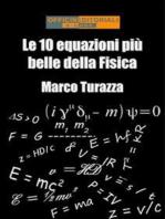Le 10 equazioni più belle della Fisica