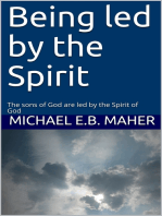 Being led by the Spirit