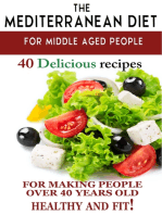 """Mediterranean diet for middle aged people"
