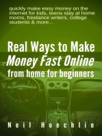 Real Ways to Make Money Fast Online from Home for Beginners