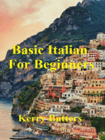 Basic Italian For Beginners.