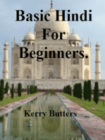 Basic Hindi For Beginners.
