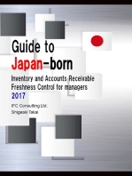 Guide to Japan-born Inventory and Accounts Receivable Freshness Control for managers