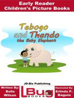 Tebogo and Thando the Baby Elephant