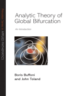 Analytic Theory of Global Bifurcation