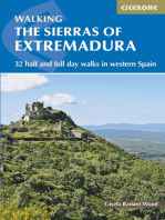 The Sierras of Extremadura: 32 half and full-day walks in western Spain's hills