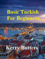 Basic Turkish For Beginners.
