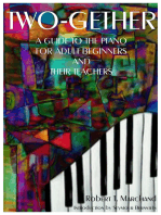 Two-Gether: A Guide to the Piano for Adult Beginners and Their Teachers