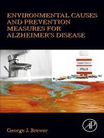 Environmental Causes and Prevention Measures for Alzheimer's Disease