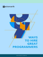 9 Ways to Hire Great Programmers