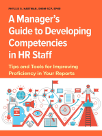 Manager's Guide to Developing Competencies in HR Staff