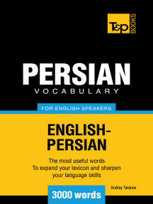 Persian vocabulary for English speakers: 3000 words