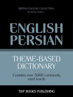 Theme-based dictionary British English-Persian: 5000 words