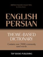 Theme-based dictionary British English-Persian: 7000 words