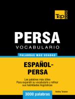 Vocabulario Español-Persa: 3000 palabras más usadas