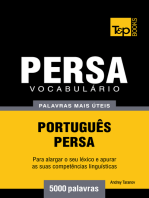 Vocabulário Português-Persa: 5000 palavras mais úteis