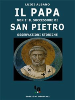 Il Papa non è il successore di San Pietro (osservazioni storiche)