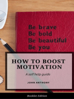 How to Boost Motivation