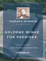 Goldene Winke für Prediger